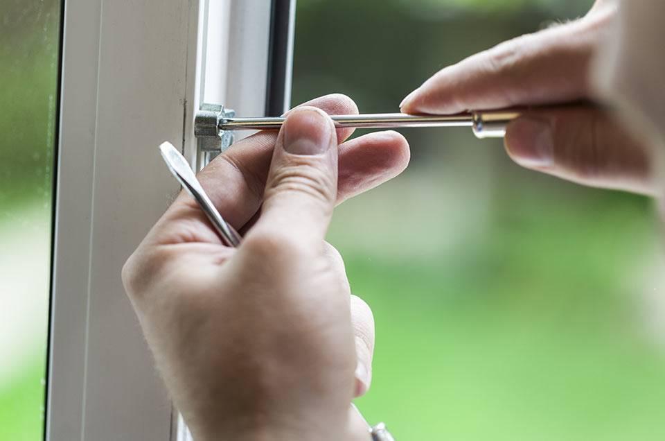 uPVC Window lock repair
