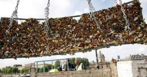 locks been removed from bridge